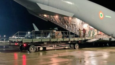 COVID-19: IAF airlifts 900 oxygen cylinders from Britain