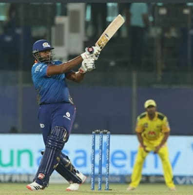 Pollard's power-hitting upstages Rayudu's as MI clinch thriller