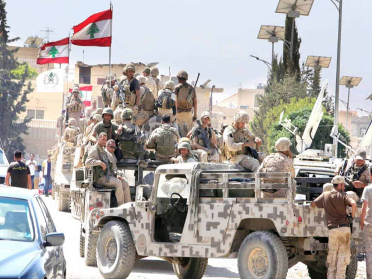 Lebanese army urges Israel to withdraw from 'occupied' territories