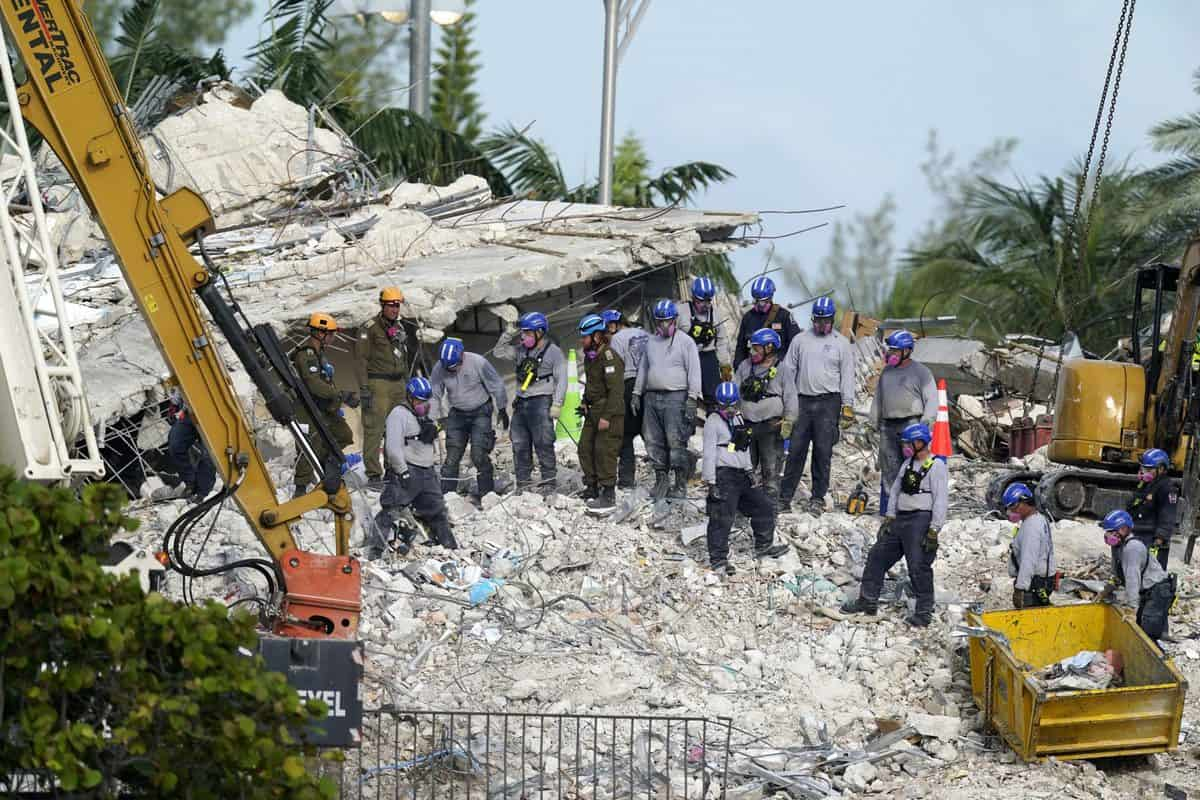Florida building collapse toll reaches 36