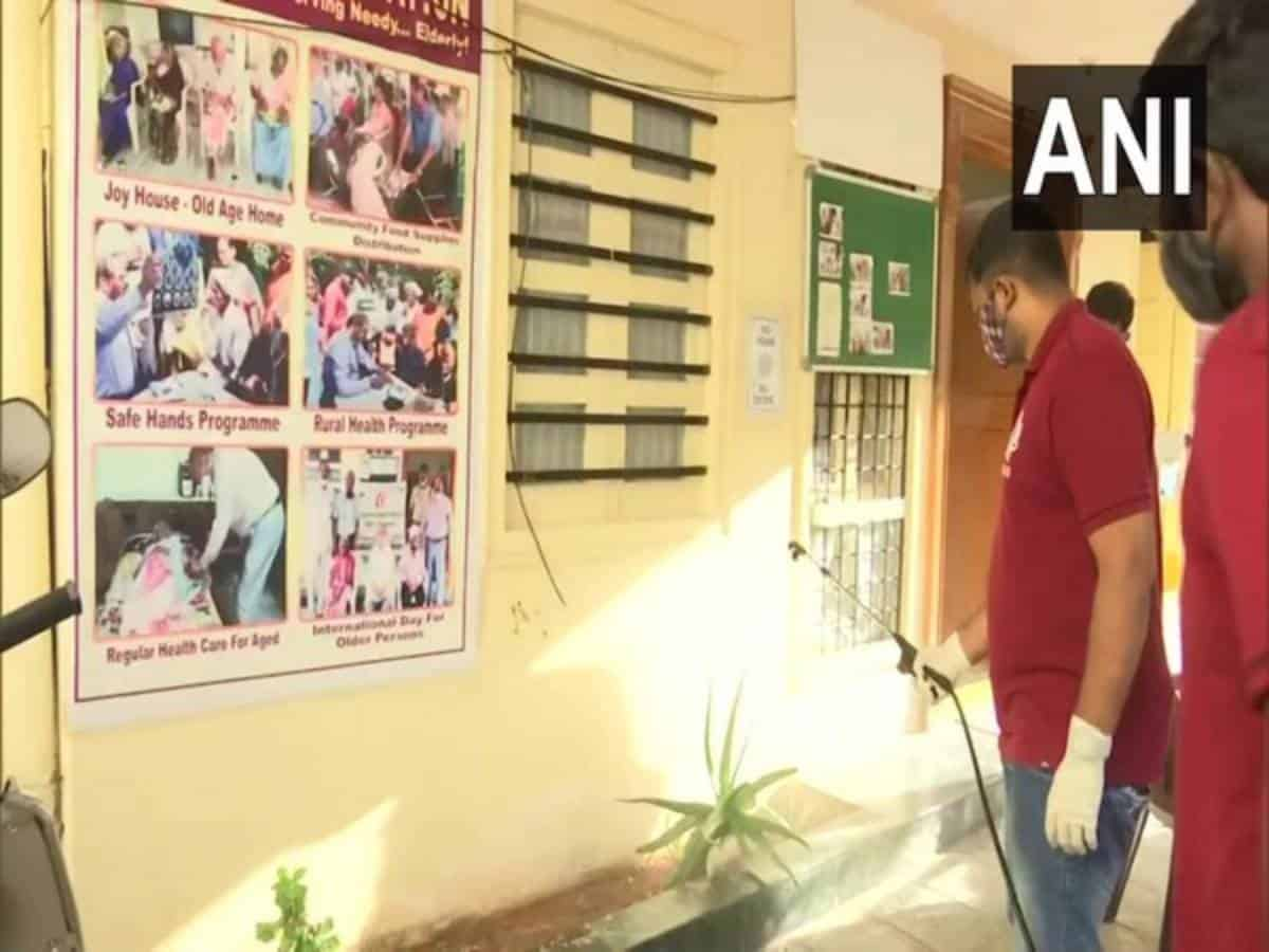 Hyderabad-based NGO carries out free sanitization at old age homes, orphanages