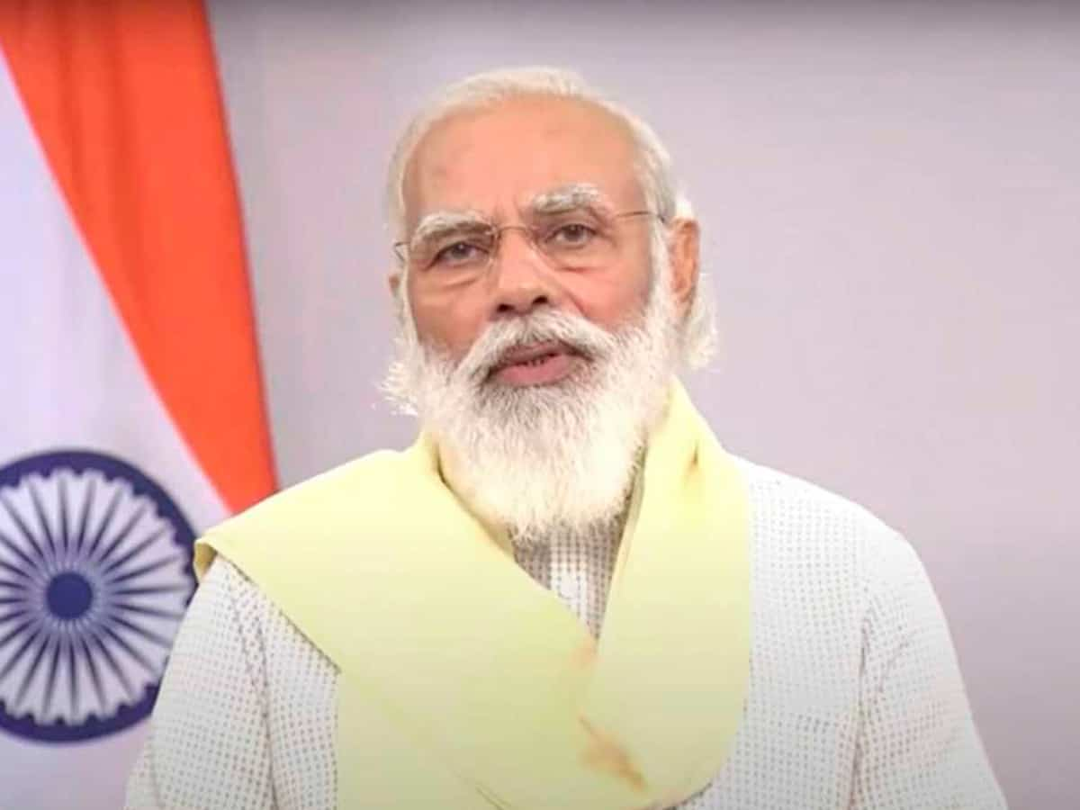 PM Modi expresses sadness at loss of lives in Mumbai due to heavy rains