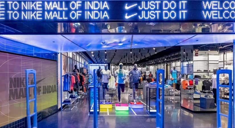 Inside Nike's new store